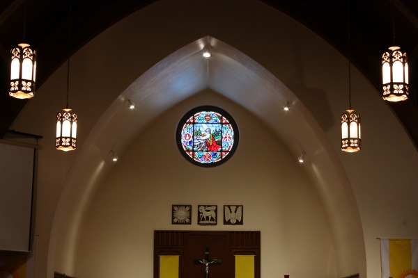 Inside Our Friendly Church