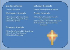 church-schedule