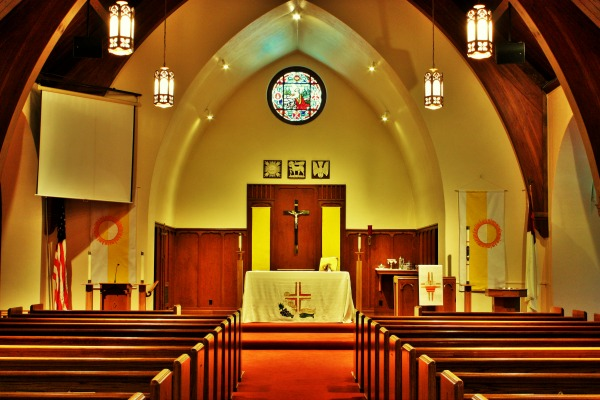 Inside Our Loving Church