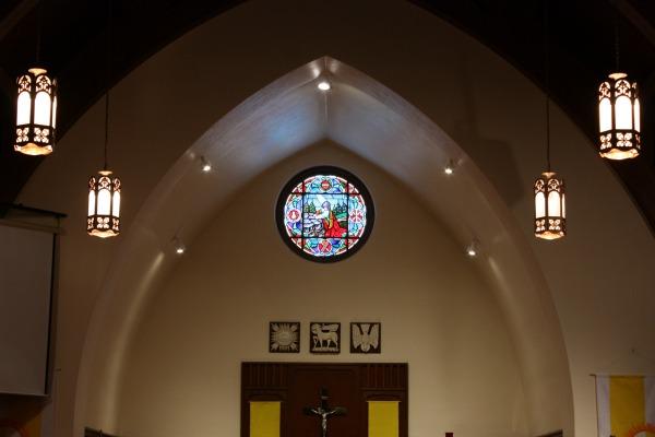 Inside Our Friendly Church